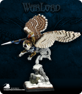 Warlord: Kragmarr - Hrolfgad Loftsaddle, Dwarf Griffon Rider (painted by Martin Jones)