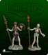Dark Heaven Legends: Skeleton Spearmen Pack
