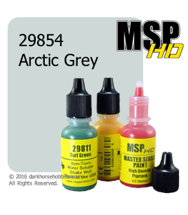Master Series Paint: HD Colors - 29854 Arctic Grey (1/2 oz)