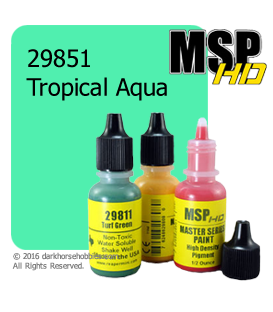 Master Series Paint: HD Colors - 29851 Tropical Aqua (1/2 oz)