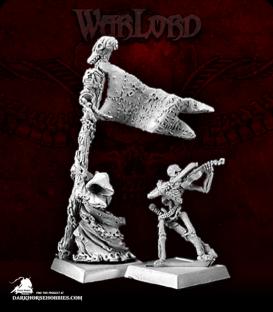 Warlord: Necropolis - Standard Bearer & Musician