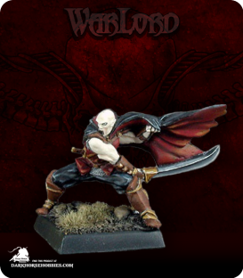 Warlord: Necropolis - Vanderast, Vampire Solo (painted by John Bonnot)