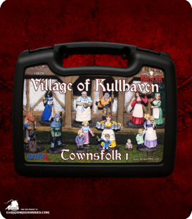 The Village of Kullhaven - Townsfolk I Boxed Set