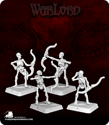 Warlord: Necropolis - Skeletal Archers Box Set