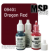Master Series Paint: Bones Colors - 09401 Dragon Red (1/2 oz)