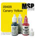 Master Series Paint: Bones Colors - 09409 Canary Yellow (1/2 oz)