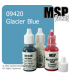 Master Series Paint: Bones Colors - 09420 Glacier Blue (1/2 oz)