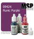 Master Series Paint: Bones Colors - 09424 Runic Purple (1/2 oz)