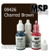 Master Series Paint: Bones Colors - 09426 Charred Brown (1/2 oz)