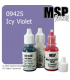 Master Series Paint: Bones Colors - 09425 Icy Violet (1/2 oz)