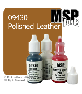 Master Series Paint: Bones Colors - 09430 Polished Leather (1/2 oz)