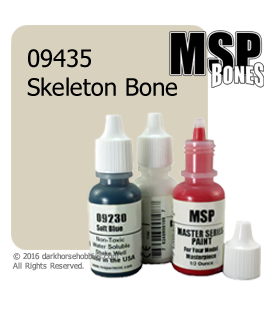 Master Series Paint: Bones Colors - 09435 Skeleton Bone (1/2 oz)