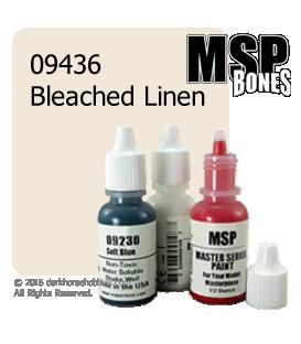 Master Series Paint: Bones Colors - 09436 Bleached Linen (1/2 oz)