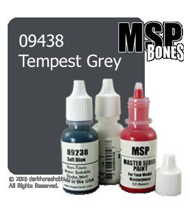 Master Series Paint: Bones Colors - 09438 Tempest Grey (1/2 oz)