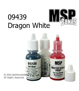 Master Series Paint: Bones Colors - 09439 Dragon White (1/2 oz)