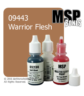 Master Series Paint: Bones Colors - 09443 Warrior Flesh (1/2 oz)