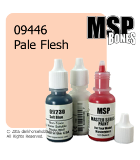 Master Series Paint: Bones Colors - 09446 Pale Flesh (1/2 oz)