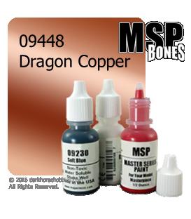 Master Series Paint: Bones Colors - 09448 Dragon Copper (1/2 oz)