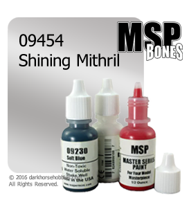 Master Series Paint: Bones Colors - 09454 Shining Mithril (1/2 oz)