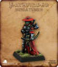 Pathfinder Miniatures: Imrijka, Iconic Half-Orc Inquisitor