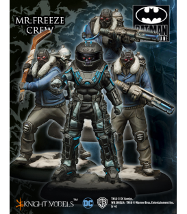 Batman Miniatures: Mr Freeze Crew