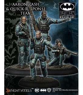 Batman Miniatures: Aaron Cash & Quick Response Team