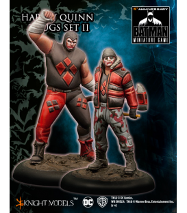 Batman Miniatures: Harley Quinn Thug Set II