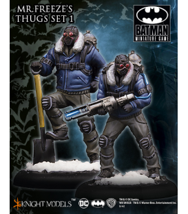 Batman Miniatures: Mr Freeze Thug Set I