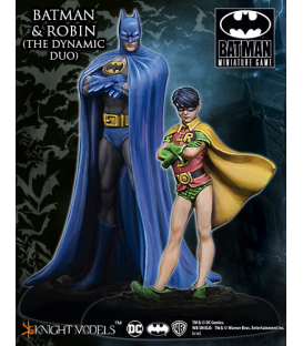Batman Miniatures: Batman & Robin - Dynamic Duo
