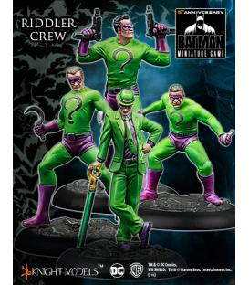 Batman Miniatures: Riddler Crew - Modern Age