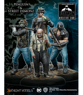 Batman Miniatures: Penguin & Street Demonz - Arkham Knight