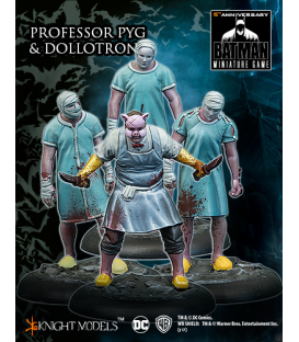 Batman Miniatures: Professor Pyg and Dollotrons