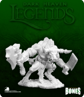 Dark Heaven Legends Bones: Minotaur