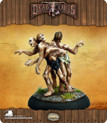Savage Worlds: Deadlands - Gloms Set (painted by Martin Jones)