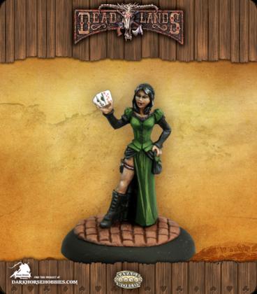 Savage Worlds: Deadlands - Female Huckster (painted by Martin Jones)