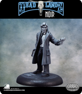 Savage Worlds: Deadlands Noir - Detective (painted by Rhonda Bender)