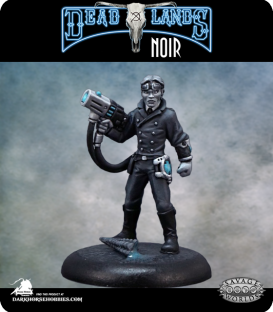 Savage Worlds: Deadlands Noir - Patent Scientist (painted by Rhonda Bender)