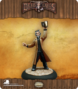 Savage Worlds: Deadlands - Reverend Grimme (painted by Martin Jones)