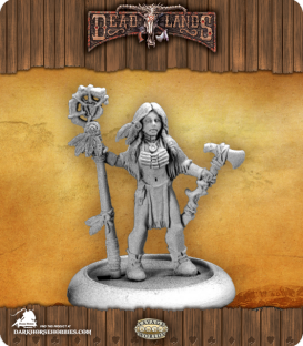 Savage Worlds: Deadlands - Indian Shaman (Female)
