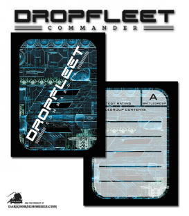 Dropfleet Commander: Activation Cards