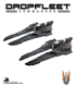 Dropfleet Commander: UCM Corvettes - Santiago Class