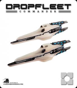 Dropfleet Commander: PHR Corvettes - Echo Class