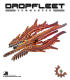 Dropfleet Commander: Shaltari Battlecruiser - Ruby/Sapphire Class