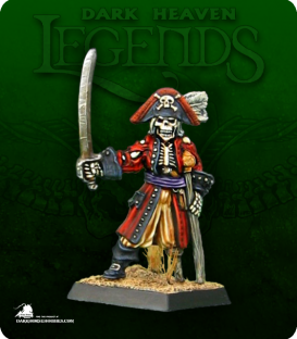 Dark Heaven Legends: Captain Razig (painted by Dustin Wagster DMan89)