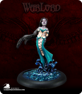 Warlord: Razig - Clarissa, Banshee Mage (painted by Alison Bailey)