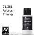 Vallejo Model Air: Airbrush Thinner (60ml)
