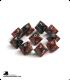 Chessex: Gemini Black Red/Gold d10 dice set (10)