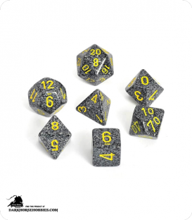 Chessex: Speckled Urban Camo Polyhedral dice set