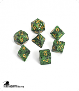 Chessex: Speckled Golden Recon Polyhedral dice set