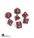 Chessex: Speckled Silver Volcano Polyhedral dice set (7)